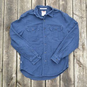 LEVI'S | Button Down Collared Shirt Blue | Sz. M